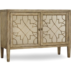 Sanctuary Two Door Mirrored Console - Surf, Visage