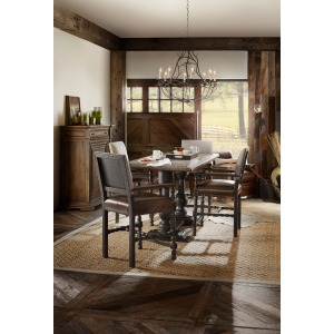 Hill Country Friendship Table w/6 Stools