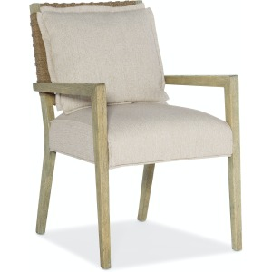 Surfrider Woven Back Arm Chair