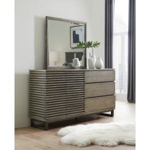 Annex Two-Door Three-Drawer Dresser & Mirror