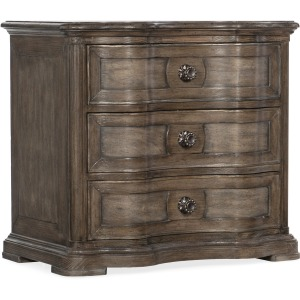 Woodlands Three-Drawer Nighstand