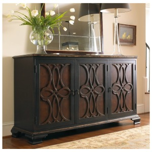 Furniture Two Tone Credenza