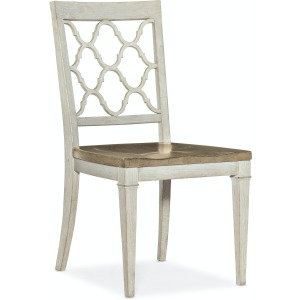 Montebello Wood Seat Side Chair
