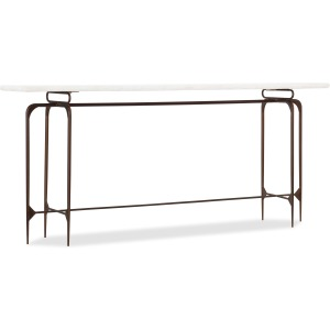 Living Room Skinny Metal Console Base