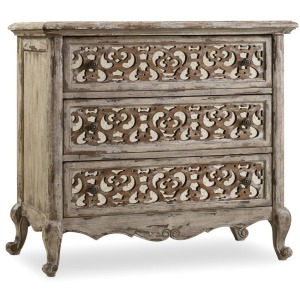 Furniture Chatelet Fretwork Nightstand