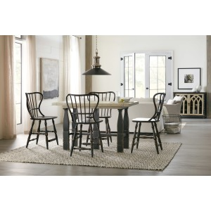Friendship 5pc Counter Height Table Set