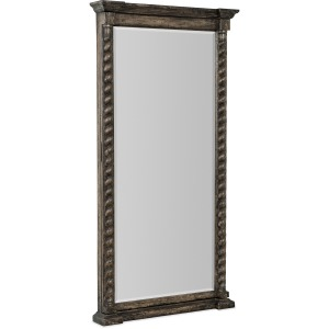 La Grange Vail Floor Mirror w/Jewelry Storage