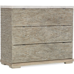 Amani Three-Drawer Accent Chest