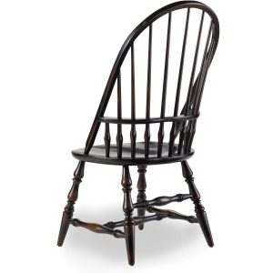 Sanctuary Windsor Side Chair-Ebony