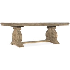 Castella Rectangle Dining Table w/2-20in Leaves