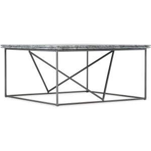Living Room Besties Stone-Metal Cocktail Table