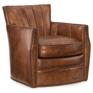 HookerLiving Room Carson Swivel Club Chair