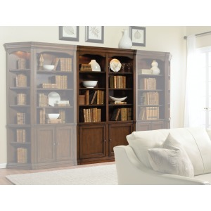 Cherry Creek 52in. Wall Bookcase
