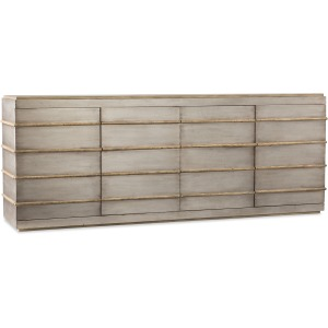 Urban Elevation Metal Entertainment Credenza