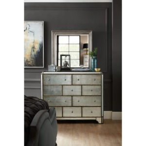 Arabella 10 Drawer Bureau w/ mirror