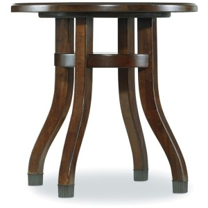 Furniture Palisade Round End Table