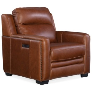 Lincoln Power Recliner w/ Power Headreast and Lumbar Recline