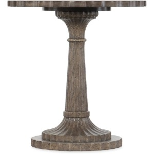 Woodlands Round End Table