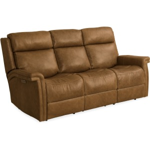 Poise Power Recliner Sofa w/ Power Headrest