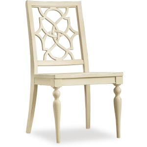 Sandcastle Fretback Side Chair - Wood Seat
