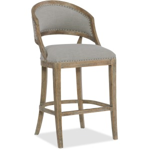 Boheme Garnier Barrel Back Bar Stool