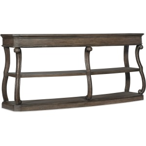 Woodlands Curved Console Table