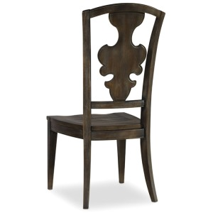 Furniture Sanctuary Side Chair-Greige Journey