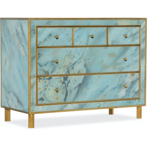 Melange Sorrell Five-Drawer Chest