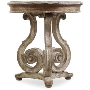 Furniture Chatelet Scroll Accent Table
