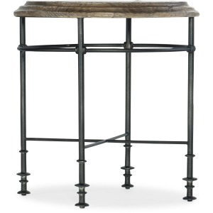 La Grange Faison Round End Table