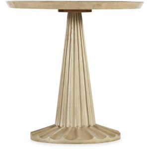 Novella Pompnio Round Accent Table