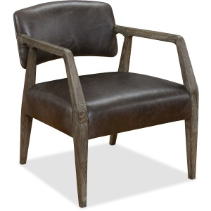Mason Exposed Wood Club Chair