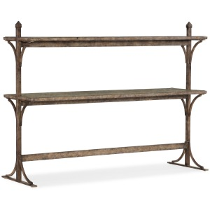 La Grange South 77 Metal and Wood Console
