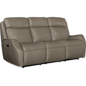 Sandovol Power Recliner Sofa w/ Power Headrest