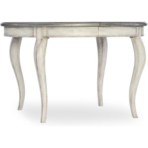 Arabella 48in Round Leg Table w/1-20in leaf