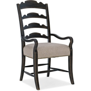 La Grange Twin Sisters Ladderback Arm Chair