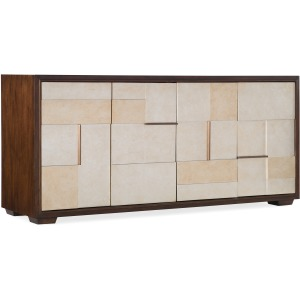 Composition in Silver Entertainment  Console