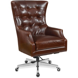 Keaton Executive Swivel Tilt Chair w/ Metal Base