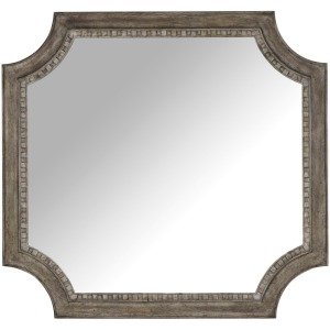 True Vintage Shaped Mirror