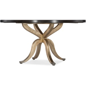 Curvee 60in Round Dining Table