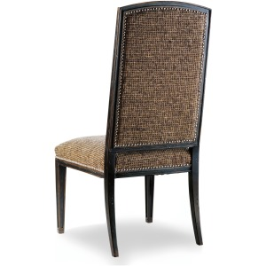Sanctuary Mirage Side Chair-Ebony