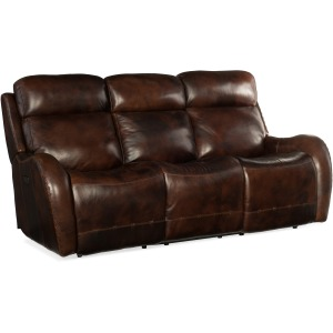 Chambers Power Recliner Sofa w/ Power Headrest