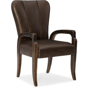 Crafted Leather Arm Chair