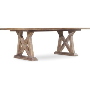 Studio 7H Geo Trestle Dining Table