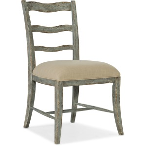 Alfresco La Riva Upholstered Seat Side Chair