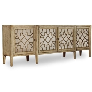 Sanctuary Four-Door Mirrored Console - Surf, Visage