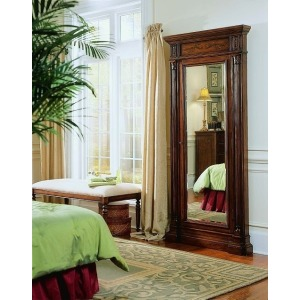 Seven Seas Floor Mirror w/Jewelry Armoire