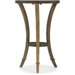 Round Accent Martini Table