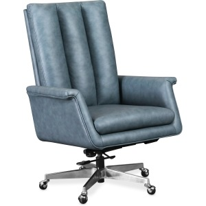 Tycoon Executive Swivel Tilt Chair w/ Metal Base