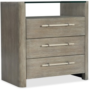 Affinity Three-Drawer Nightstand